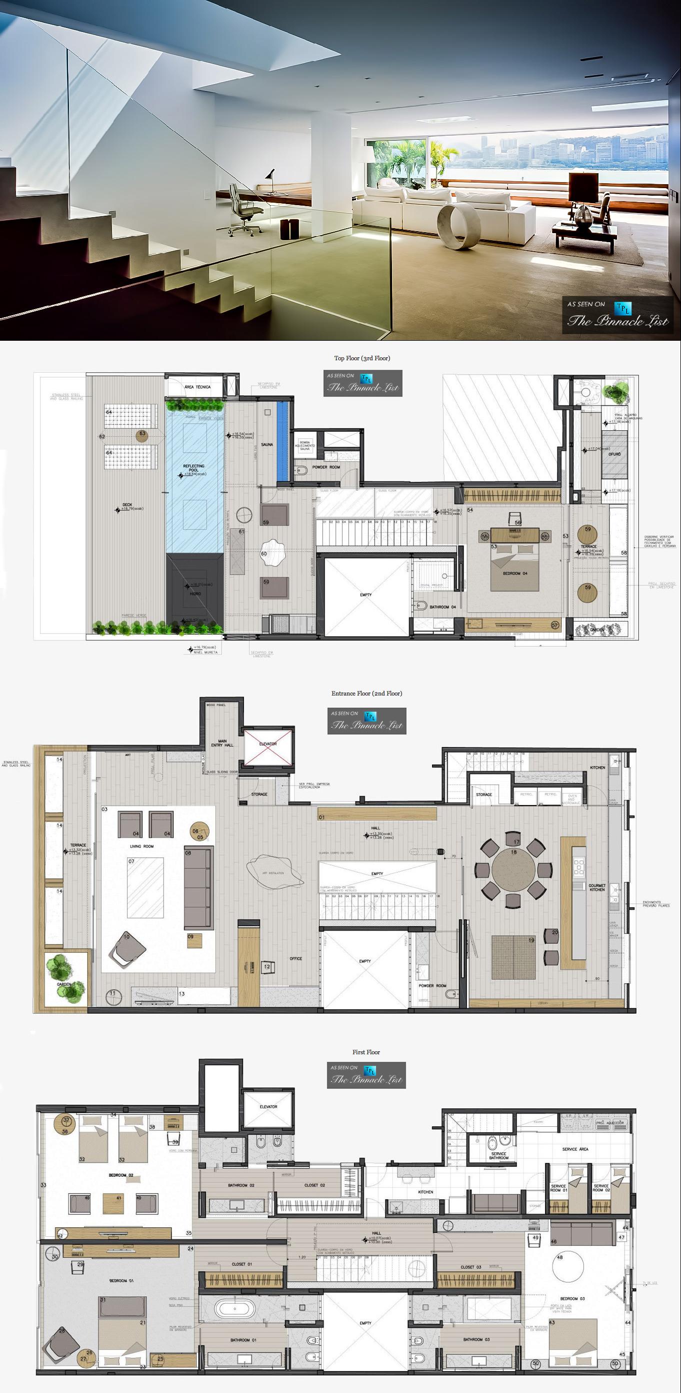 Incredible Casa Urca Penthouse Rio De Janeiro Brazil Showcase Interior Design Ideas Ghosoteloinfo