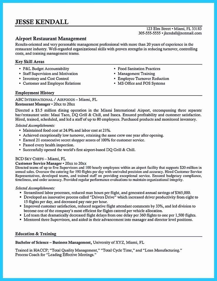 23 Bar Manager Job Description Resume in 2020 Manager