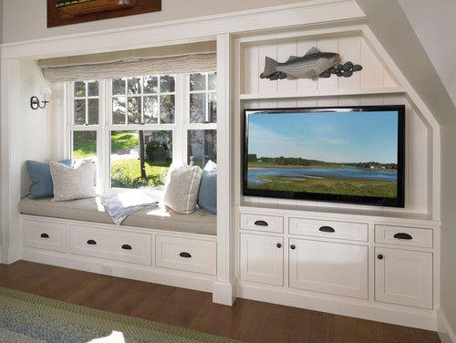 Groovy Built In With Window Seat And Entertainment Center In 2019 Inzonedesignstudio Interior Chair Design Inzonedesignstudiocom