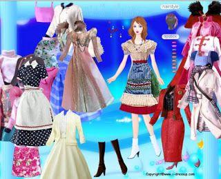 Y8 girl dress up