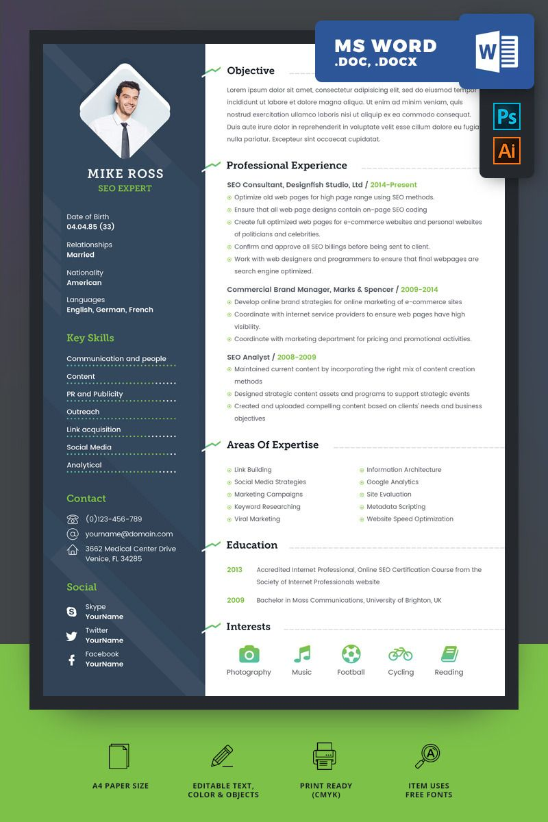 25 Construction Manager Resume Template in 2020 Manager