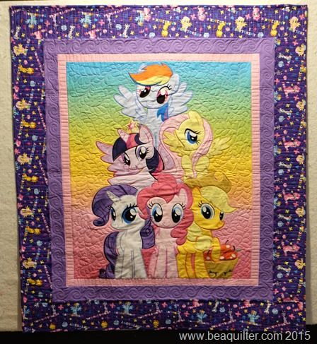 Birthday weekend my little pony quilt | Quilts | Pinterest ... : pony quilt - Adamdwight.com