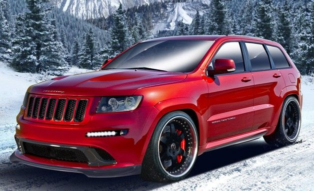 Hennessey Rolls Out 800 Hp Twin Turbo Jeep Grand Cherokee Jeep