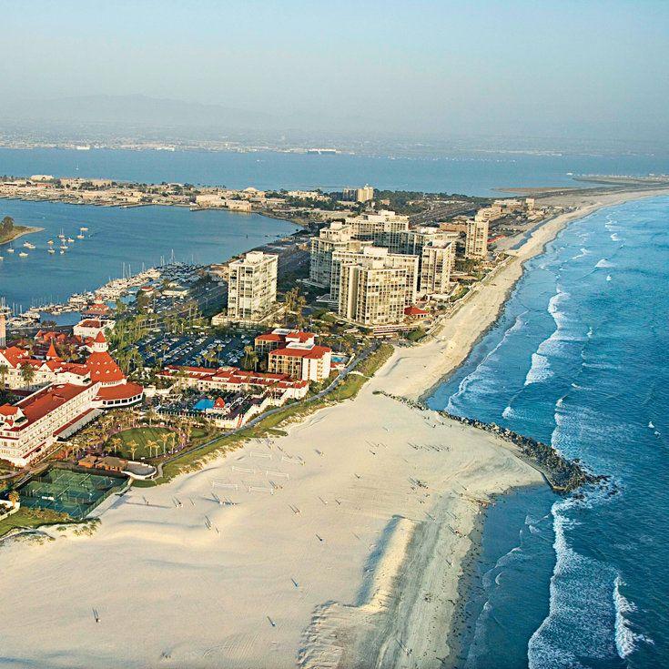 Top 10 Walking Beaches San diego travel, Coronado
