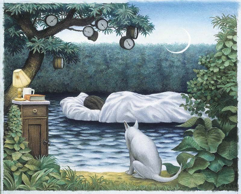 The dream by Jacek Yerka