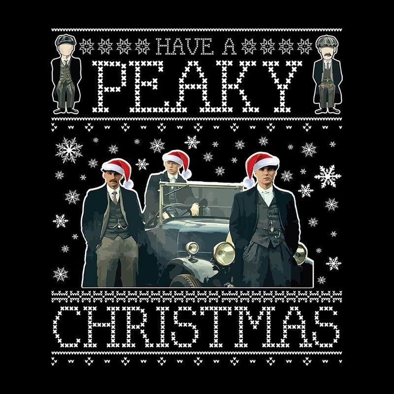 have a peaky blinders christmas knit pattern men s t shirt