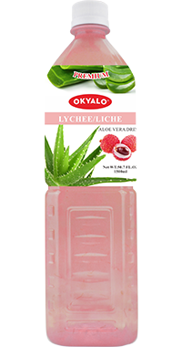 Just Drink Aloe Vera Juice With Lychee Flavor Aloe Vera