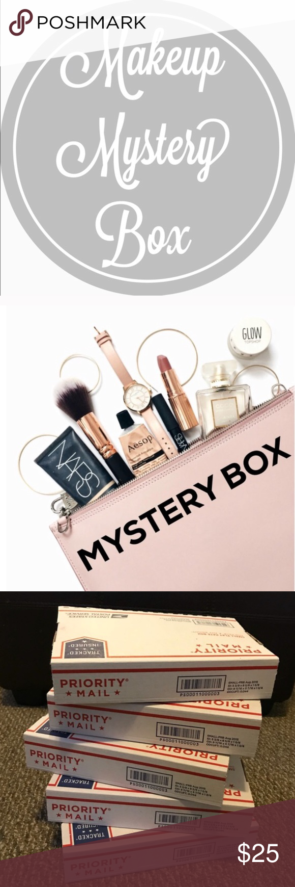 Makeup Mystery Box 🎉 Your makeup mystery box will be