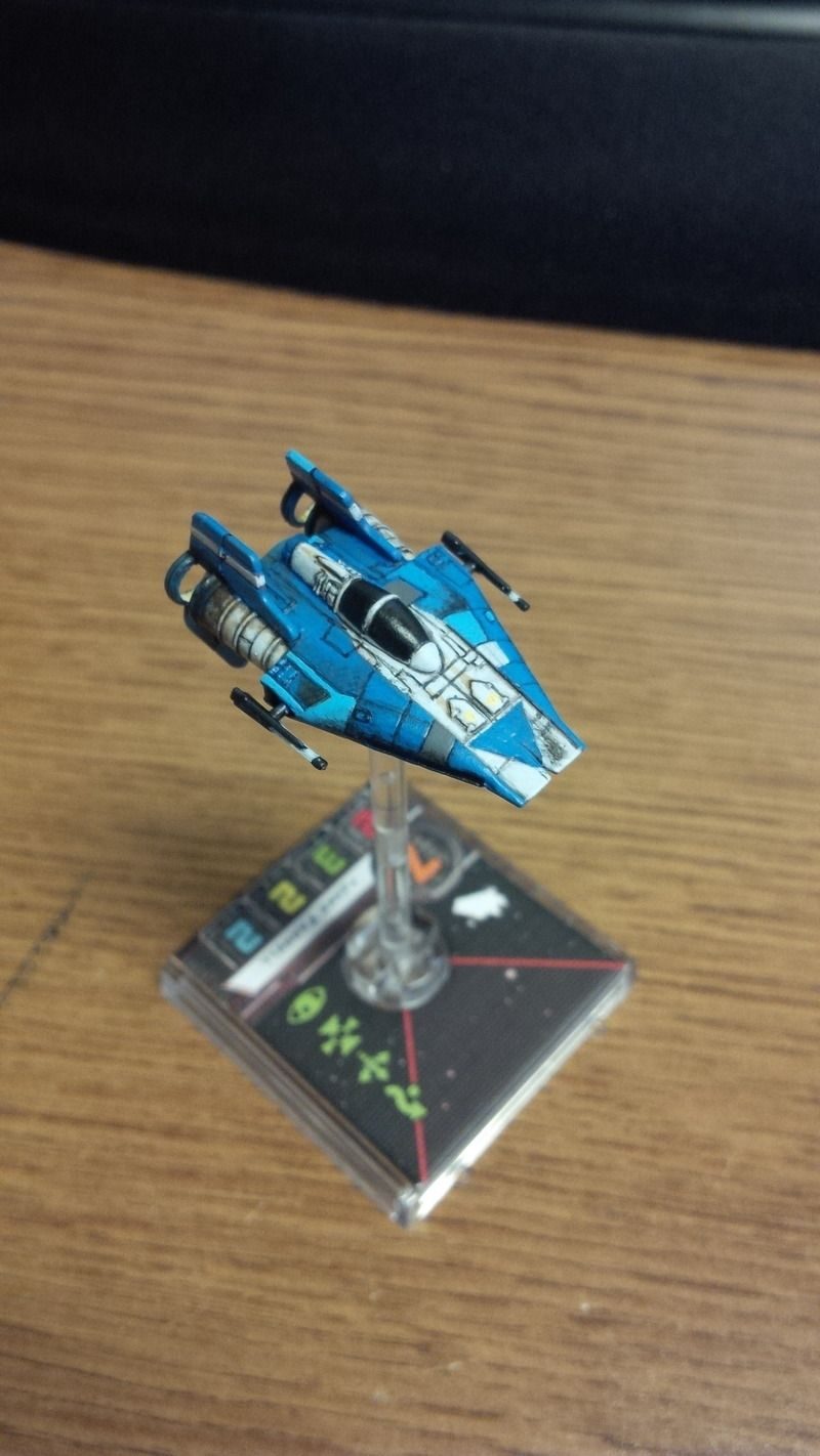 The Concise Collected Repaints Thread Keep Them All Here Keep Em Visible Page 27 X Wing Star Wars Awesome Star Wars Vehicles X Wing Miniatures