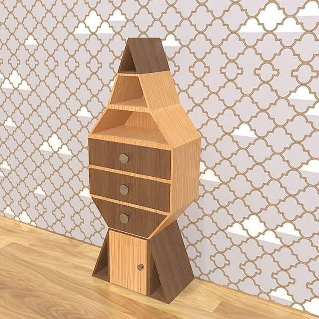 Do you like my work ? The rocket #furnituredesign #furniture ...