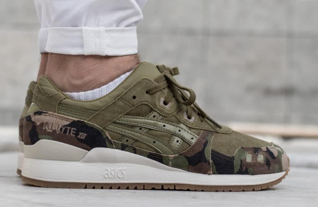 848786e0b0c4 The Asics Gel Lyte III  Martini Olive Camo  is NOW ONLY £41.24! Find ...