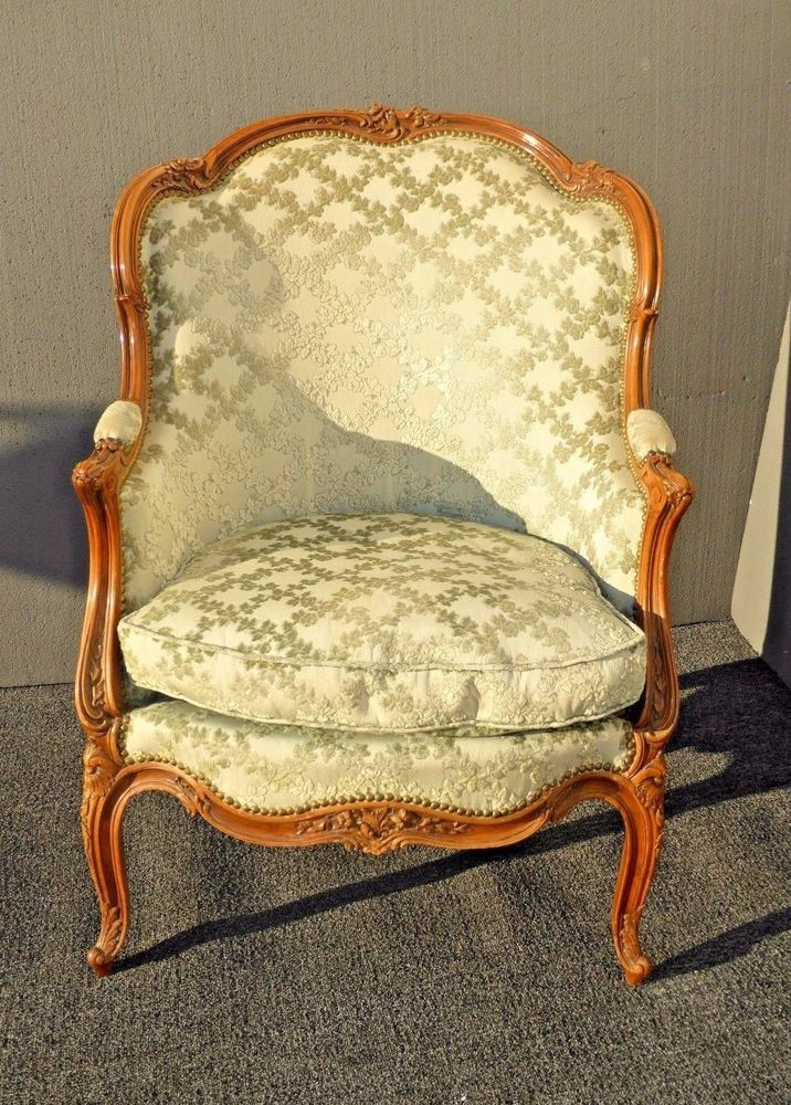 Sofas, Armchairs & Suites French Armchair Baroque Chair Livingroom Furniture Fine Workmanship