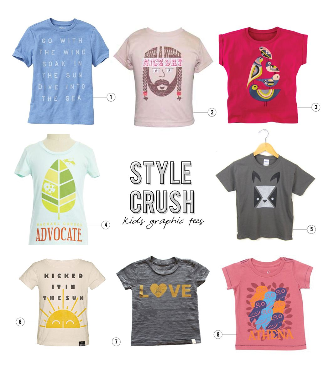 Style Crush Graphic Tees for Kids Baby boy fashion