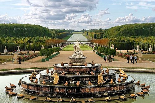"Gardens of Versailles (France) Unbelievably beautiful property surrounding Versailles with fountains, statues, ""country homes""."
