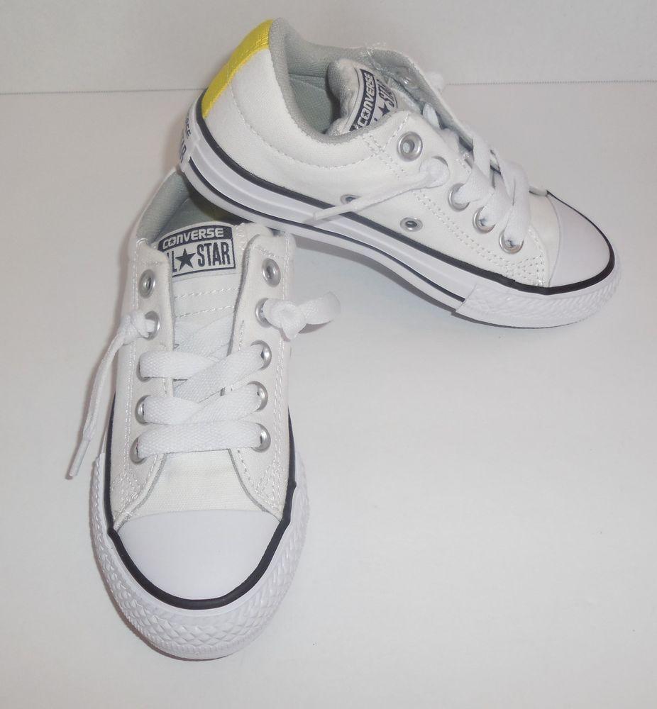 converse street slip white