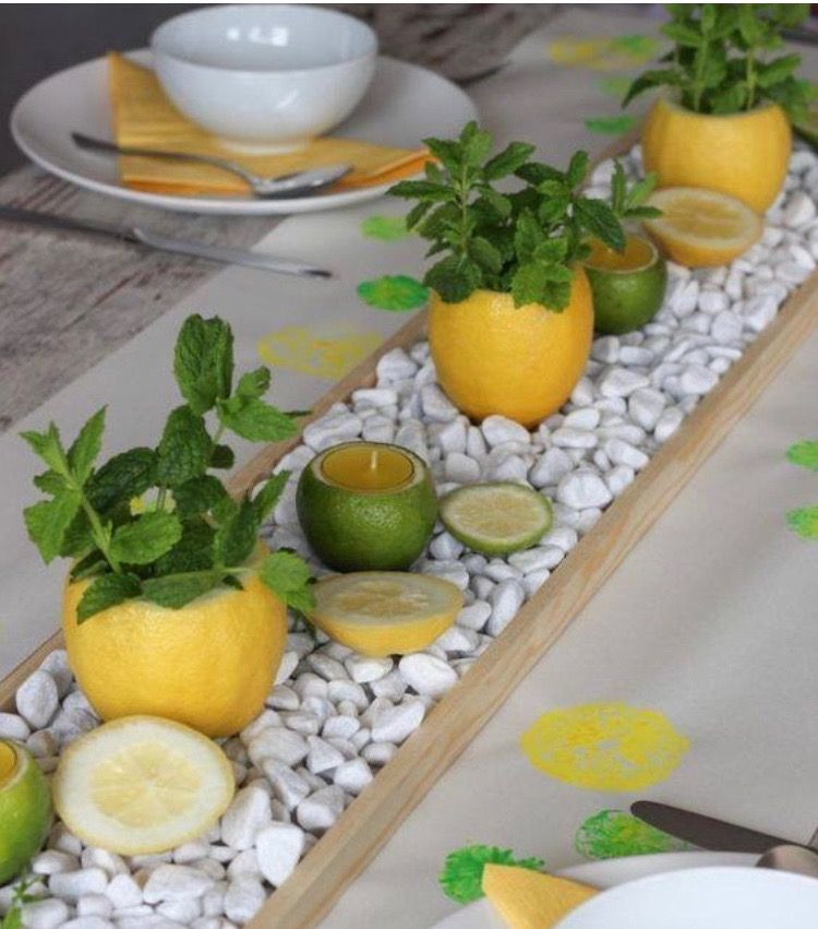 Summer Wedding Centerpiece Ideas: Citron Limao Velas In 2019