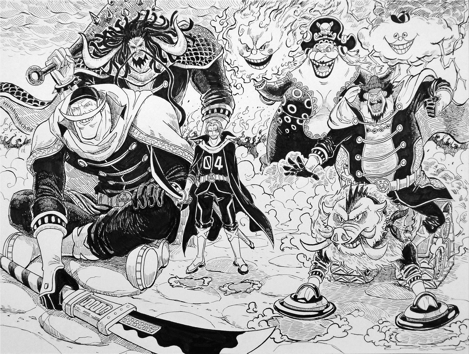 One Piece Chapter 875 A Woman S Honor Manga Mangafreak Onepiece Updated Chapter At Mangafreak One Piece Manga One Piece Anime One Piece Chapter