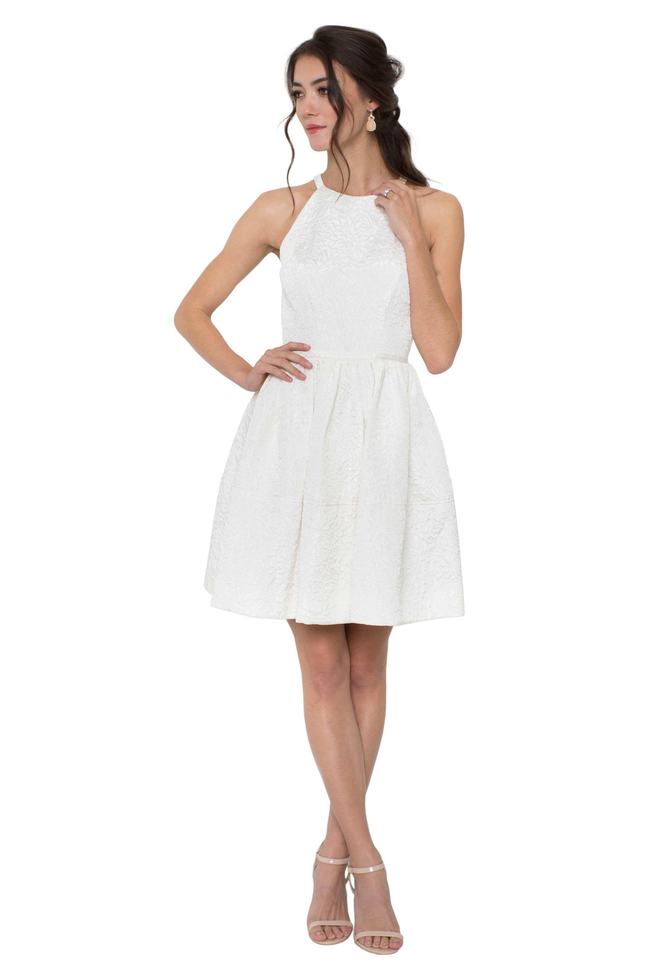 Pin By Kelli Wright On Wedding White Dress White Short Dress Dresses [ 3400 x 2300 Pixel ]