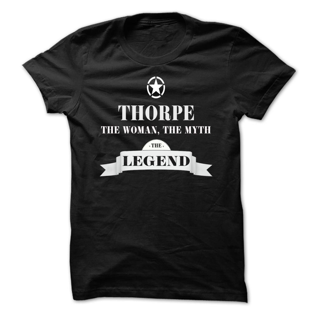 THORPE, the man, the myth, the legend