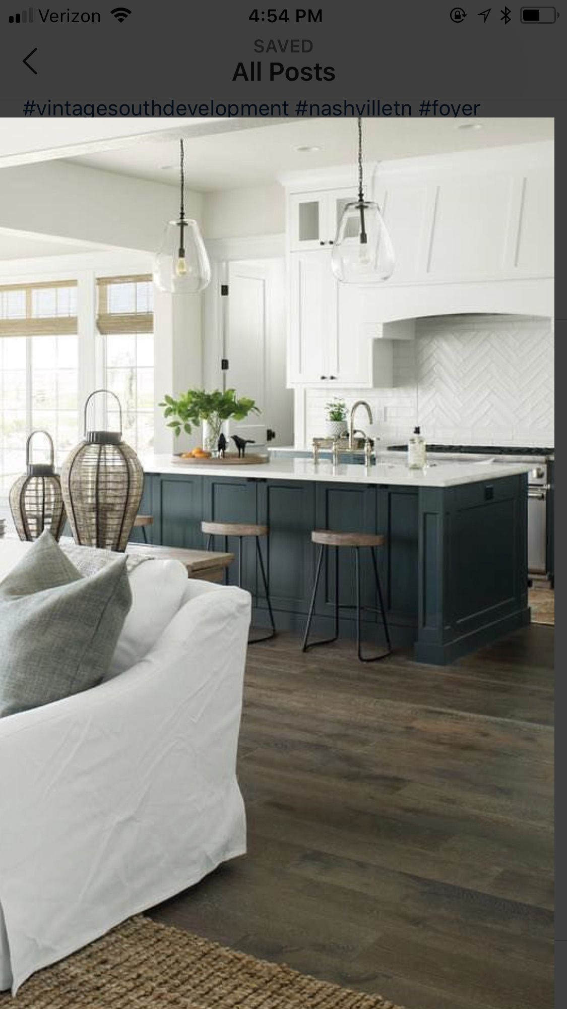 like this color combo and flooring love the matte look of painted island also ceca     transitional kitchen in booth rh pinterest