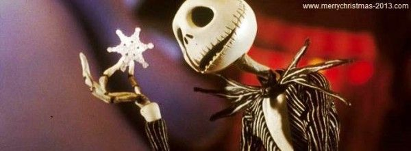 Jack Skellington in Nightmare Before Christmas Facebook Covers FB ...