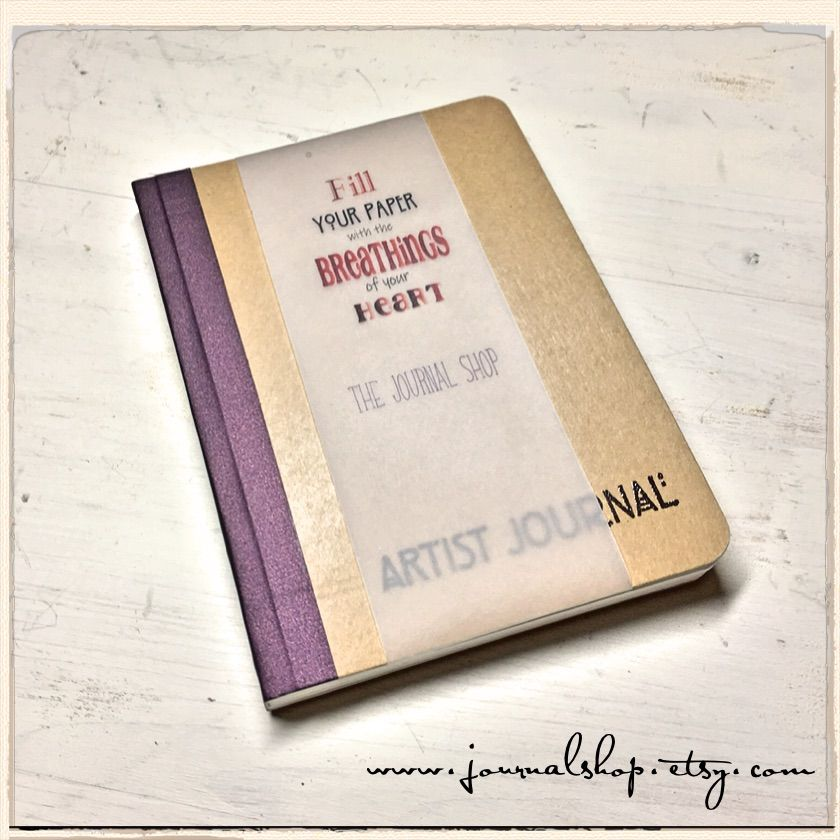 Watercolor Journal Artist Journal Mixed Media Book Art Journal