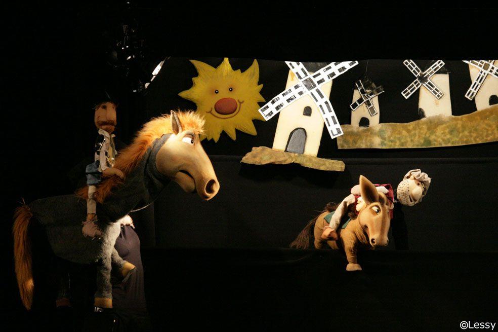 El Quijote cabalga de nuevo- 2015 www.artefusiontiteres.com