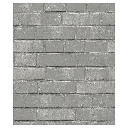 Devine Color Textured Brick Peel Stick Wallpaper Gray Textured Brick Wallpaper Grey Textured Wallpaper Color Textures