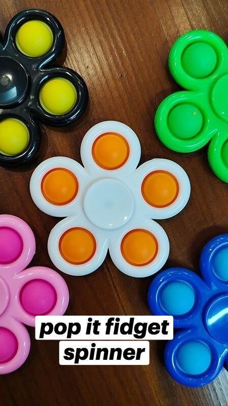 Pop it fidget spinner