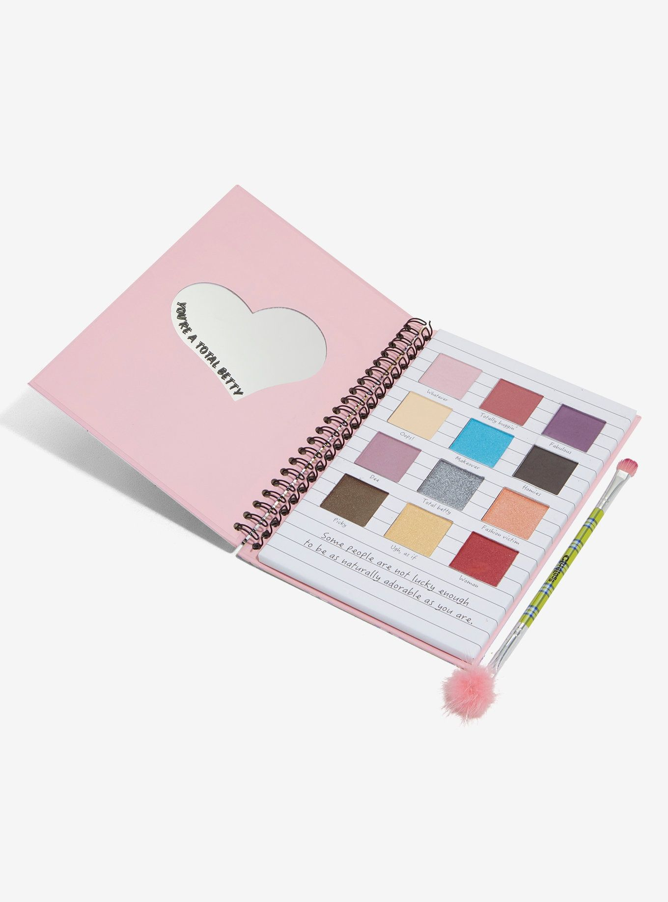 Clueless Totally Buggin Eyeshadow Palette Hot Topic Exclusive In