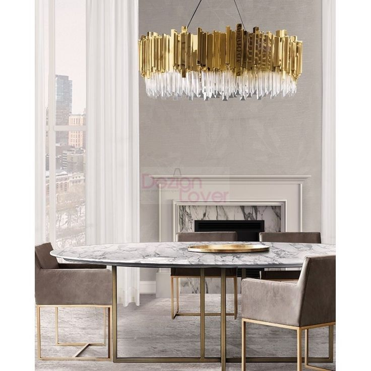 10 Dining Room Interior Design With Modern Dining Tables 3: Empire Suspension Design . Free Worldwide Delivery. Custom