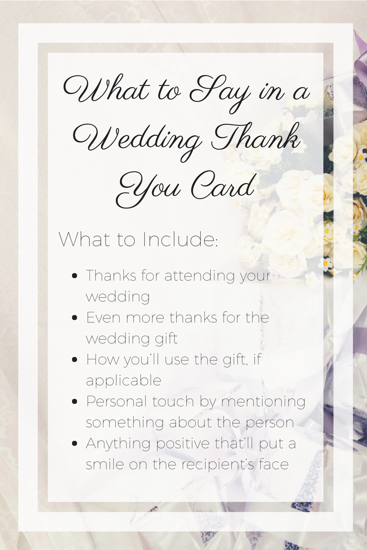 Got Writer S Block Here S What To Say In A Wedding Thank You Card Wedding Thank You Wedding Card Messages Wedding Cards