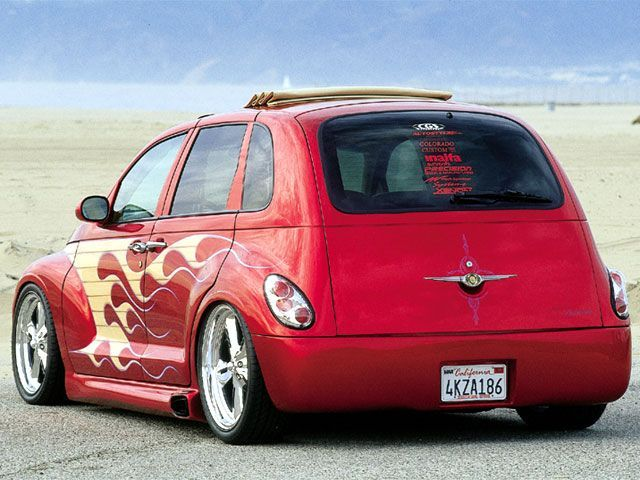 Custom Red Chrysler PT Cruiser - Featured Custom Trucks - Truckin ...