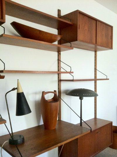 Matt Mitchell London Design Sect Mid Century Design Furniture Danish Furniture Design Shelving Design