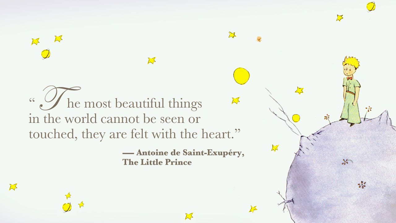 1 Quote Best Quotes Little Prince: The Little Prince Quotes Wallpaper