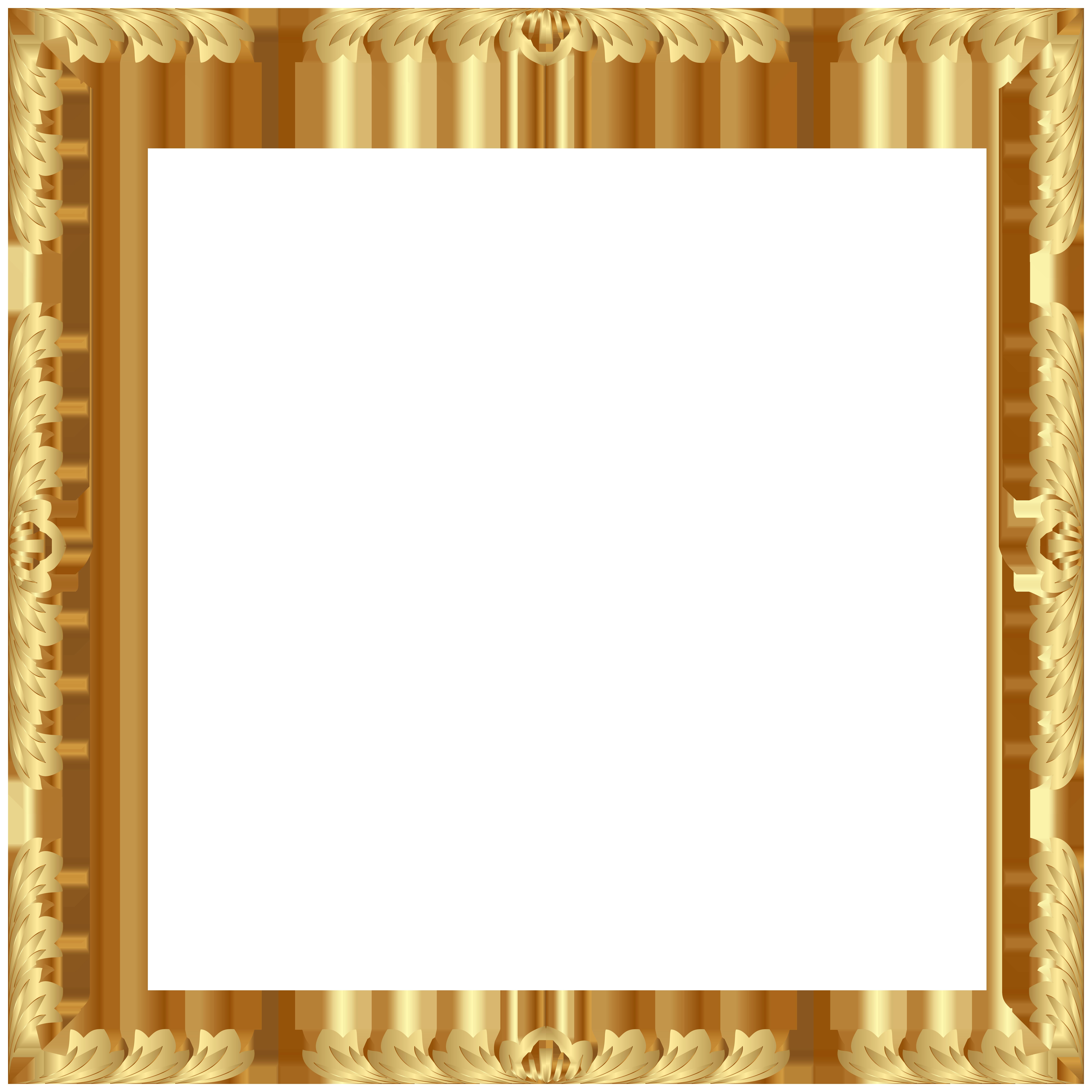 Decorative Border Frame Transparent Clip Art PNG Image Gallery