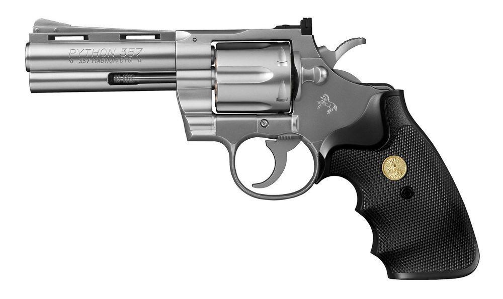 Tokyo Marui Colt Python 357 Magnum 4 inches Black Model Air HOP handgun