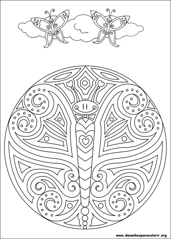 mandalas 41 coloring page for kids and adults from cartoons coloring pages mandalas coloring pages - Art Therapy Coloring Pages Mandala