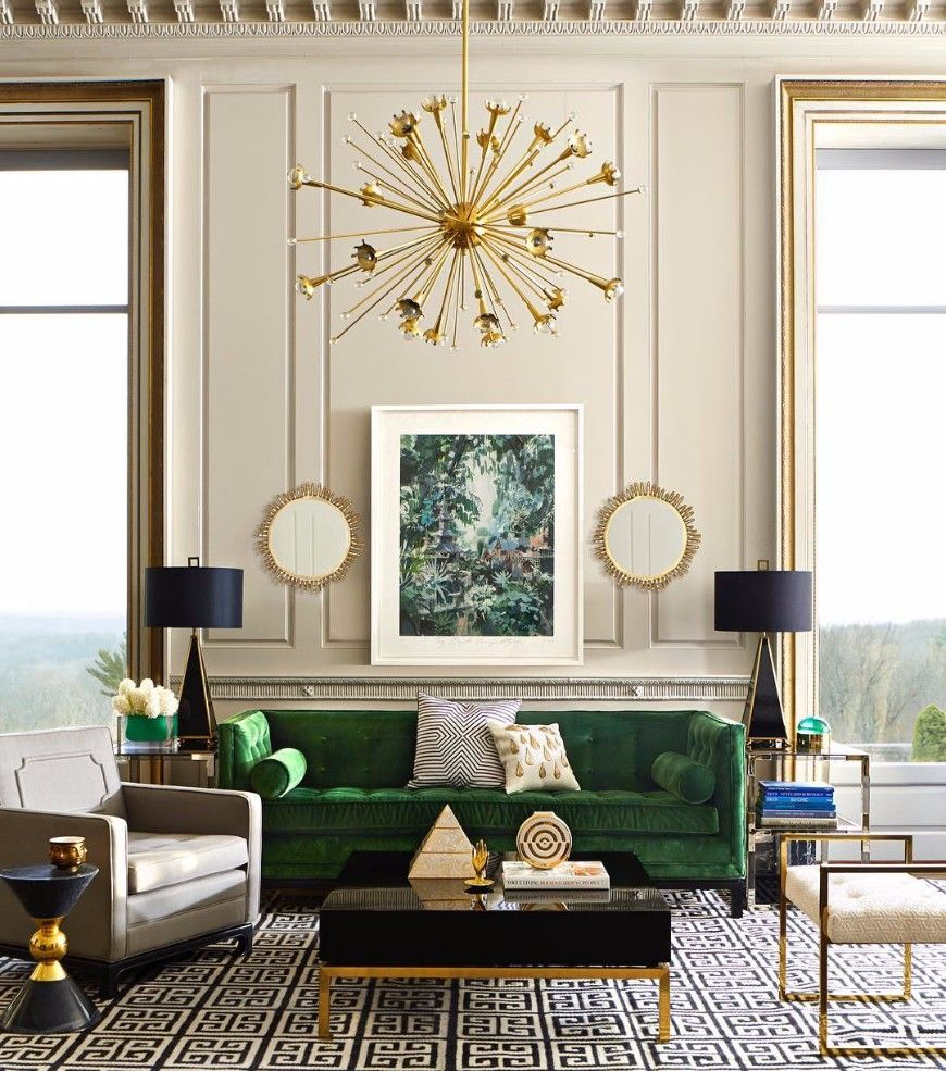 7 colorful modern sofas that will add character to your - Art deco living room ...