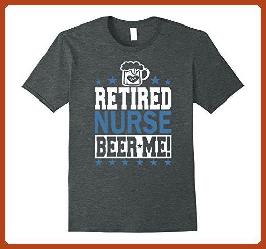 c552b80d17 Funny Nurse Retirement T-Shirt! Large Dark Heather - Careers professions  shirts (*Partner-Link)