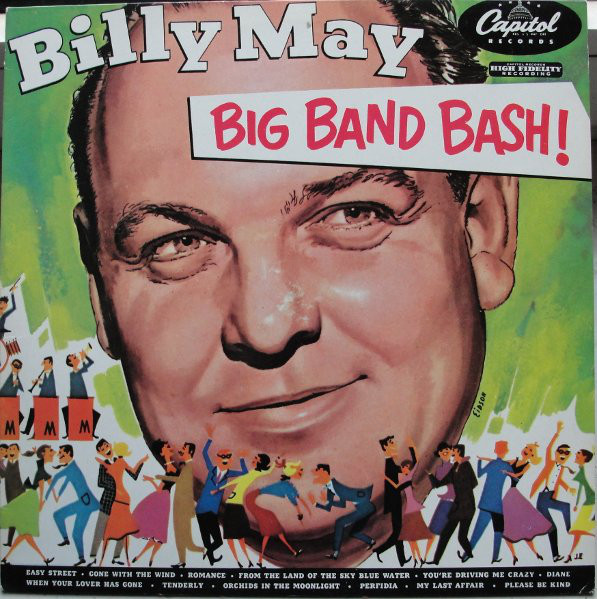 Billy May And His Orchestra Big Band Bash Vinyl Discogs Big Band Billy Mays Classic Album Covers