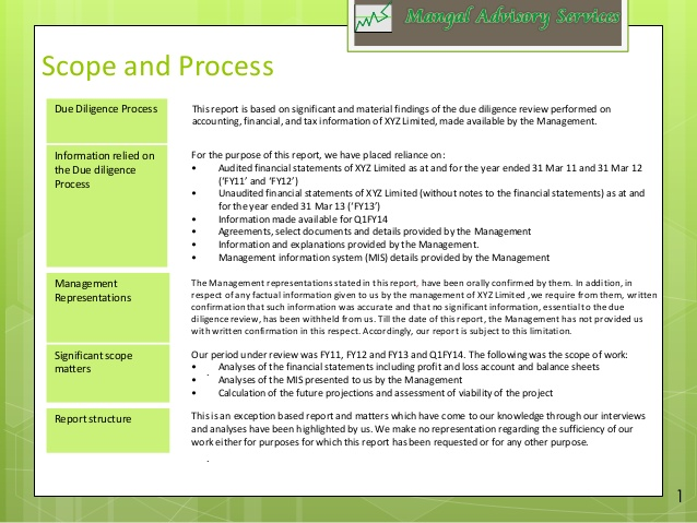 Vendor Due Diligence Report Template 1 Templates Example Templates Example Report Template Diligence Sample Resume