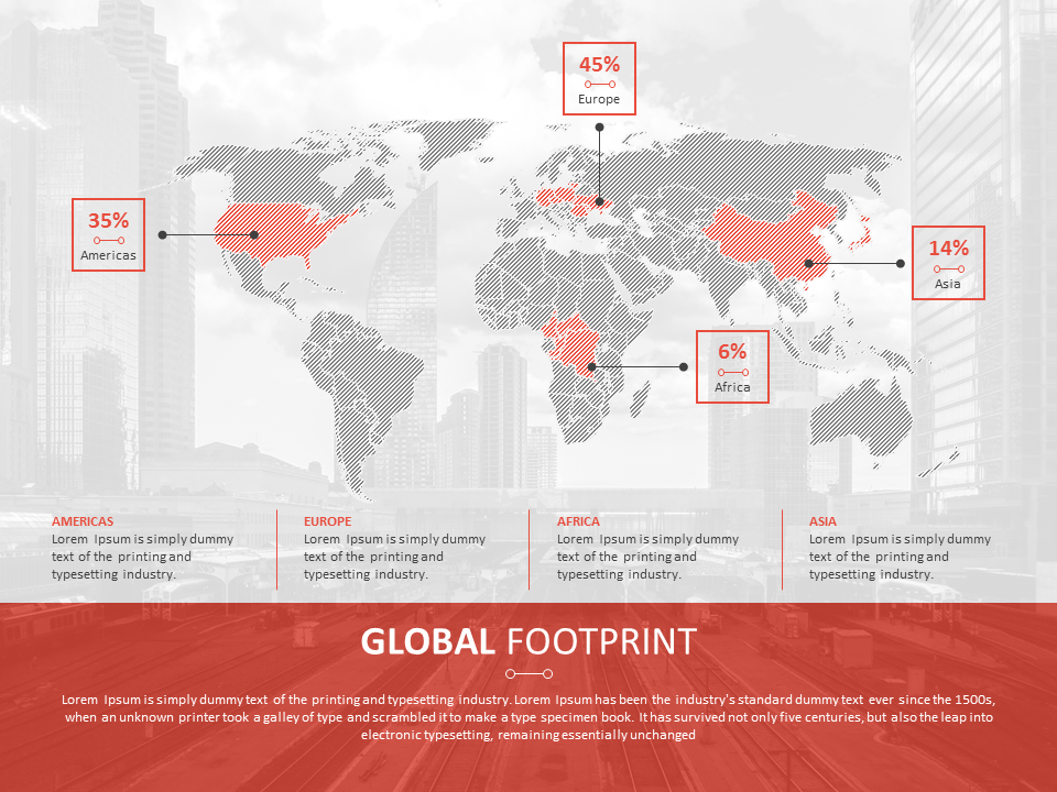 Corporate global footprint template powerpoint presentationslide corporate global footprint template powerpoint presentationslide toneelgroepblik Image collections