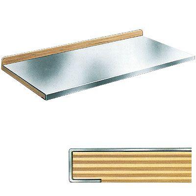 Multiplex-Arbeitsplatte mit Stoßbrett sowie Stahlabdeckung Kitchens