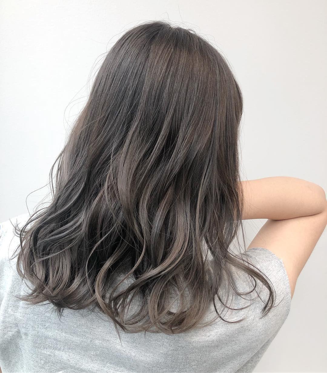 Ghim Của めぐみ 福冨 Tren Hair Color Trong 2020 Toc Va Lam đẹp