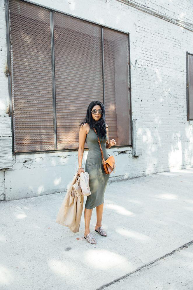 "@walkinwonderland wearing the Azalea ""Divine Mock Neck Midi Dress"" | azaleasf.com"