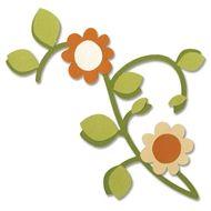 Sizzix - Bigz Dies - Vine, Leaves & Flower - 657250