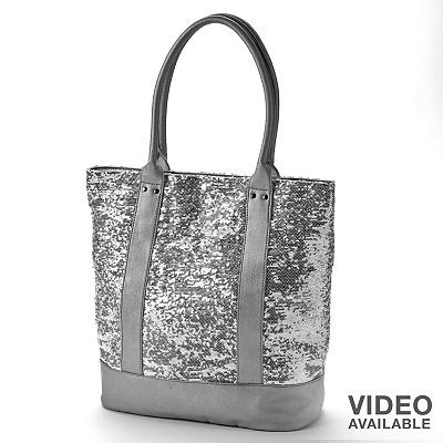 Apt. 9 Sequin Tote. Can I justify spending $30 for a new church bag? :)