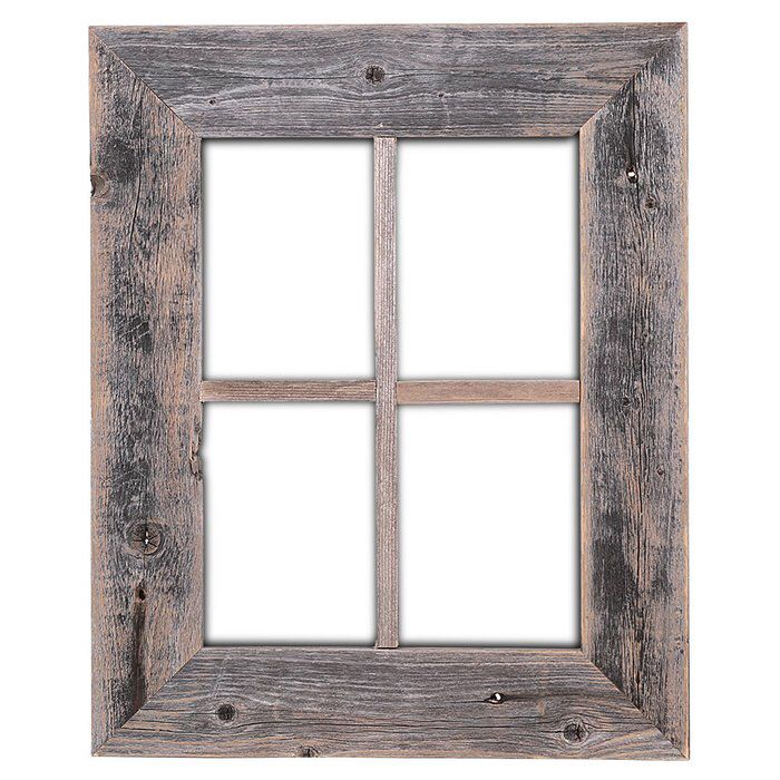 Old Rustic Barn Window Frame