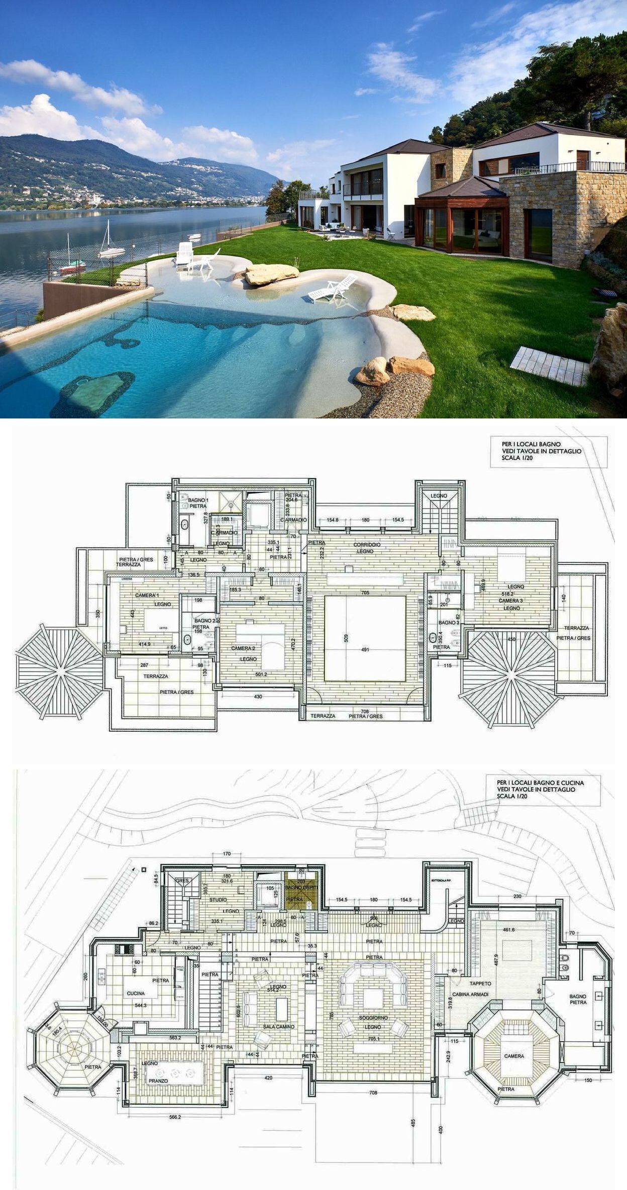 Fontana Sotheby S International Realty Luxury Lake Front Property In Montagnola Luxury House Floor Plans Mansion Floor Plan Mansion Plans